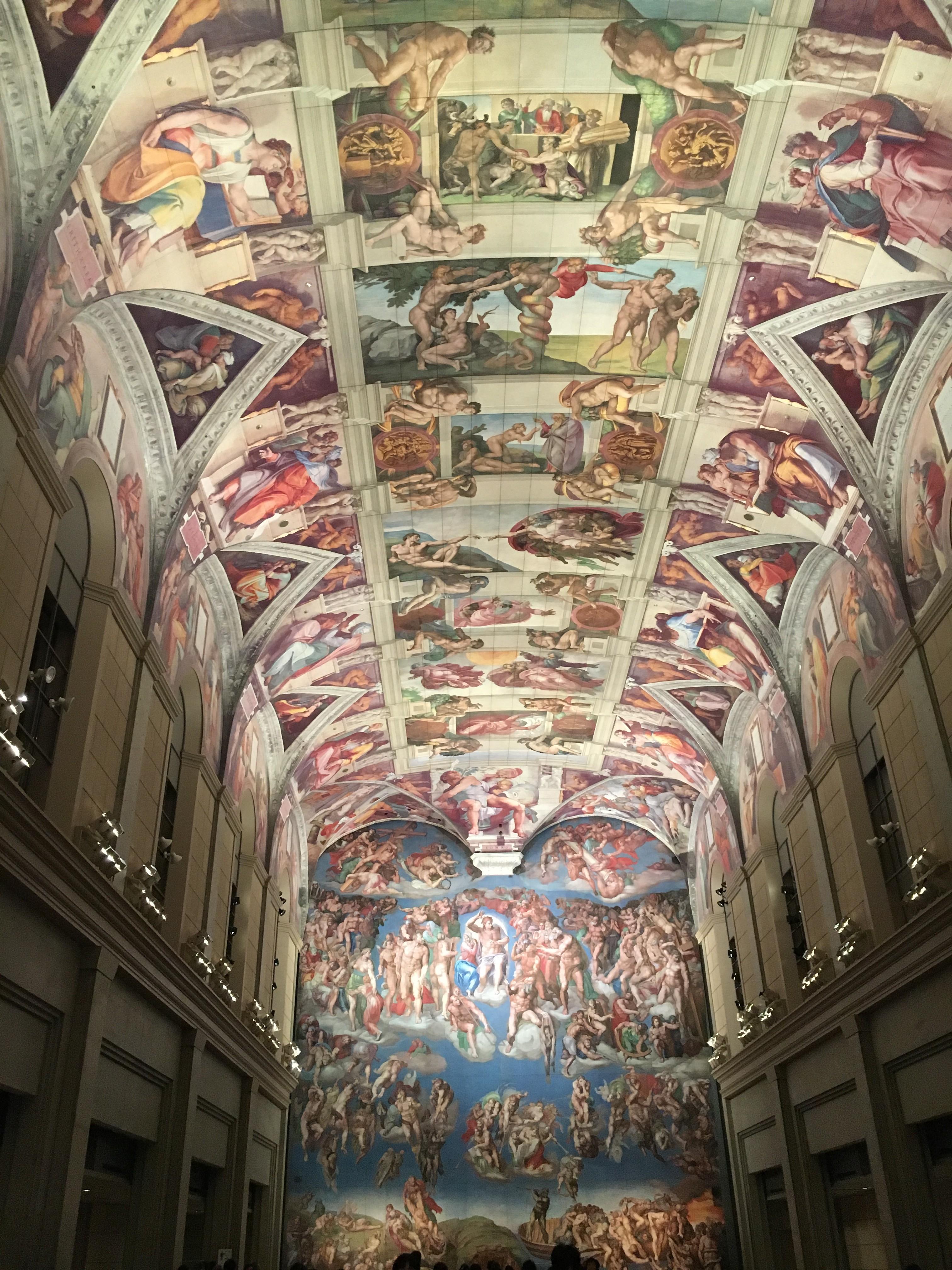 紅白で注目!世界の名画を完全再現☆大塚国際美術館
