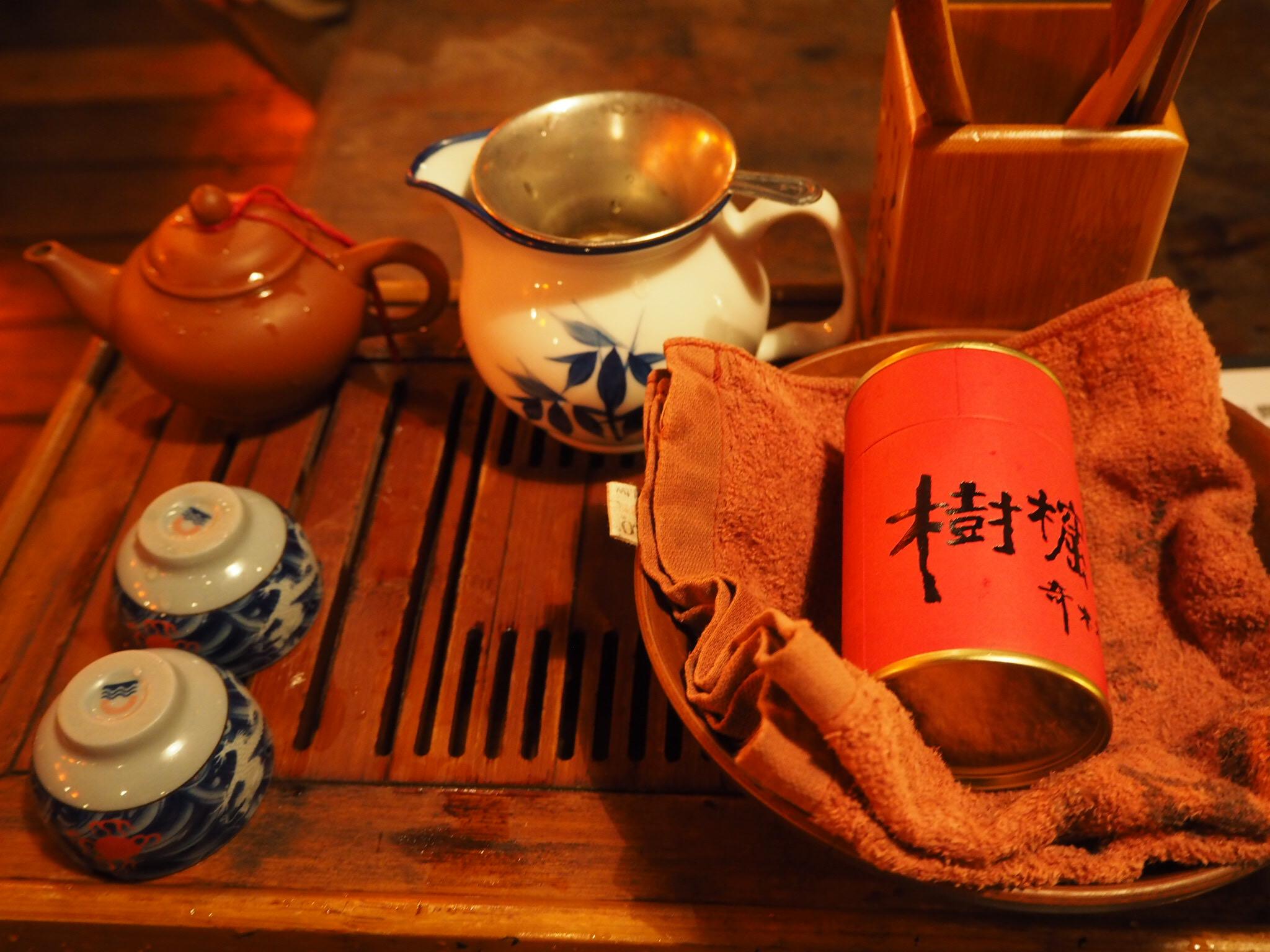 ちょっとお茶しに♪ノスタルジックな九份の隠れたお茶屋さん【台湾ティー】