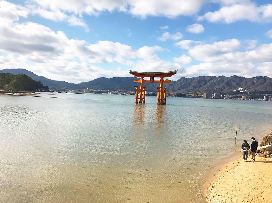 懐かしの宮島へ♡(広島)