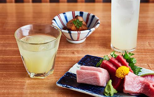 魚河岸千両紀尾井町(2階)「じゃばら酒」