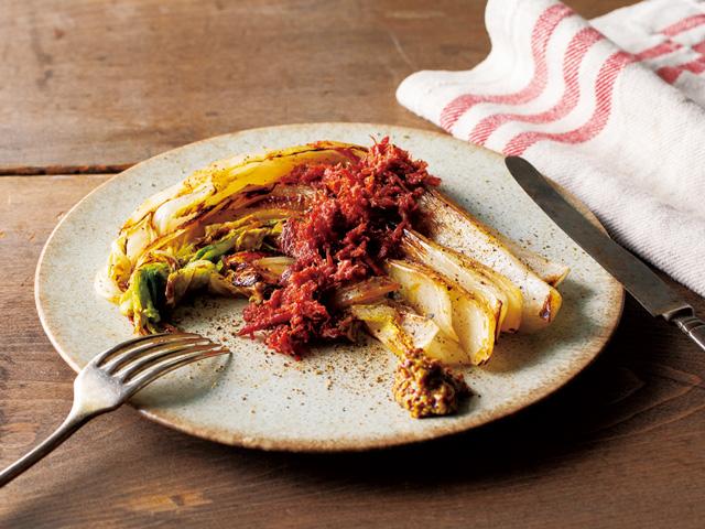 白菜とコンビーフのシンプルバター焼き 白菜の簡単カレー