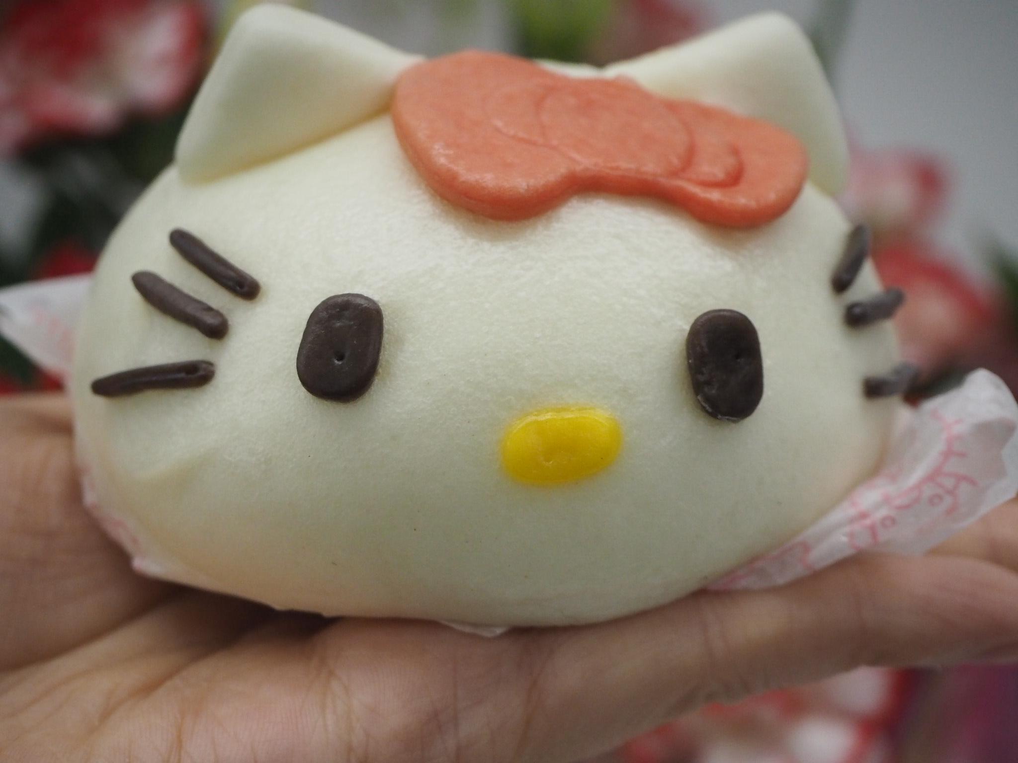 【ローソン】2/19発売!ハローキティまん実食レポ☆再現率高いよ!
