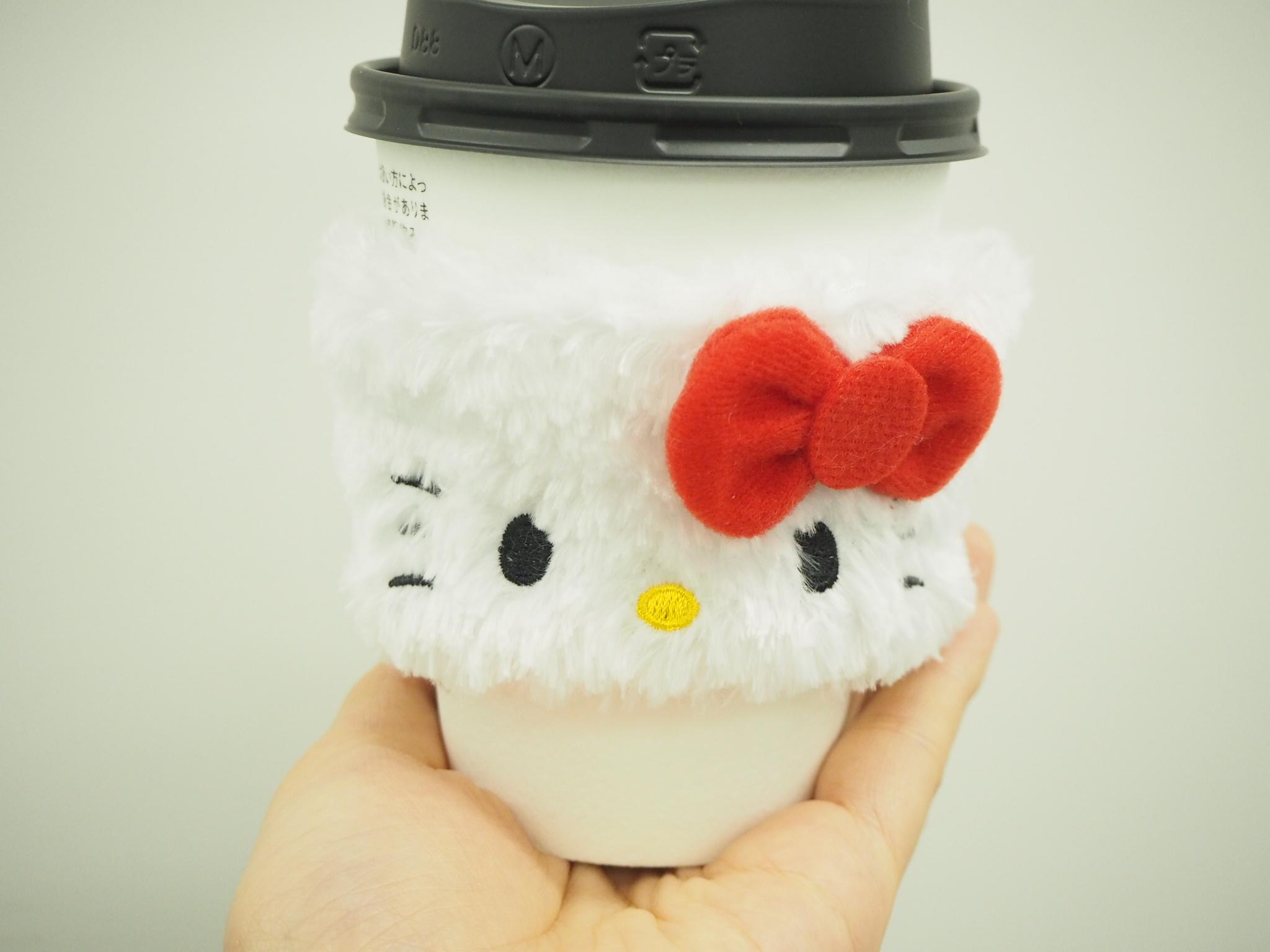 【ローソン】500円!ハローキティスリーブ付カフェラテGETしました★