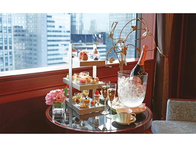 【北新地】ANAクラウンプラザホテル大阪 1月15日スタート「Pink Afternoon Tea」