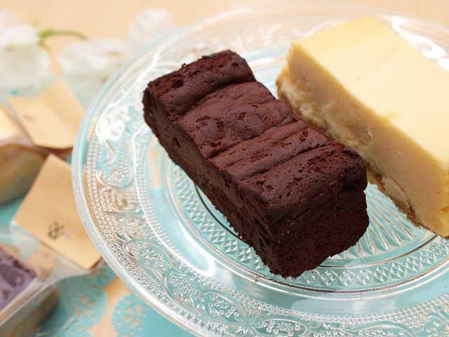 ヒルンド・ルスティカの「ガトーショコラ」「チーズケーキ」