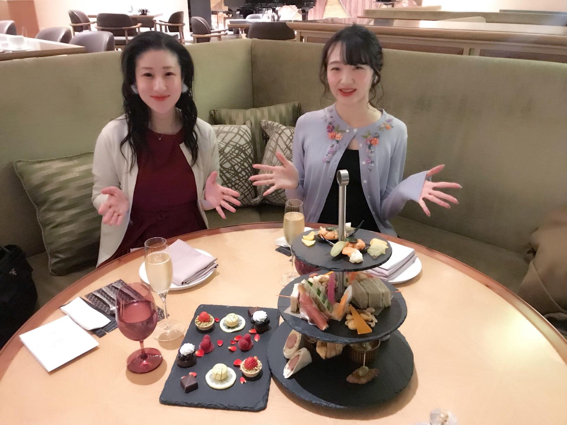 グランドプリンスホテル新高輪のイブニングハイティー♡