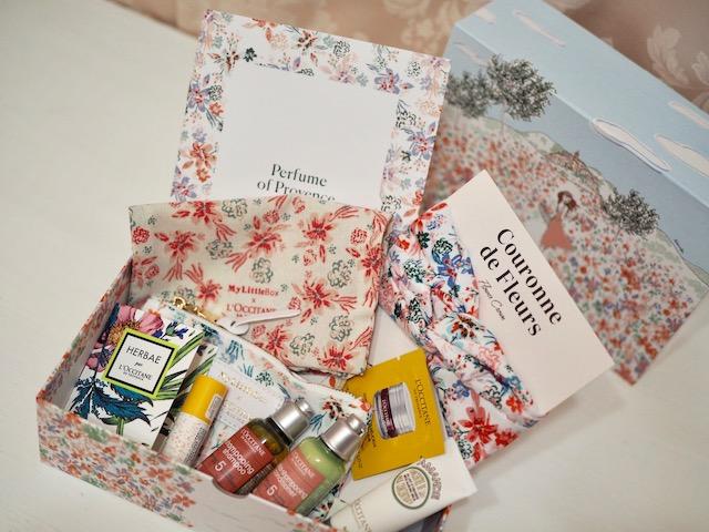 毎月届くサプライズBox♡今月はロクシタンとのコラボBox!!