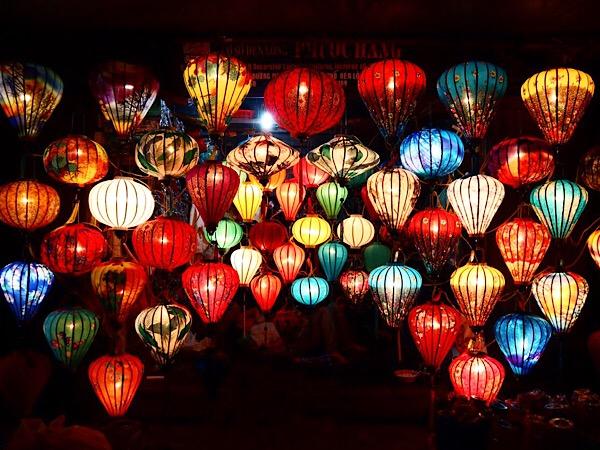 【ベトナム旅行①】ホイアンで幻想的なランタンを作ってもらいました♪