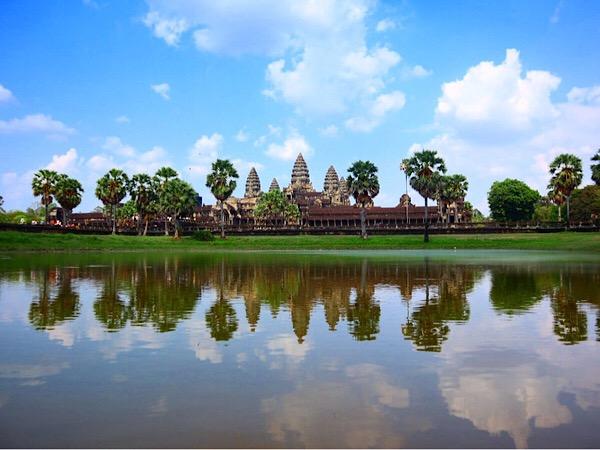 【カンボジア旅行①】アンコールワットへの行き方&ベストシーズンは?