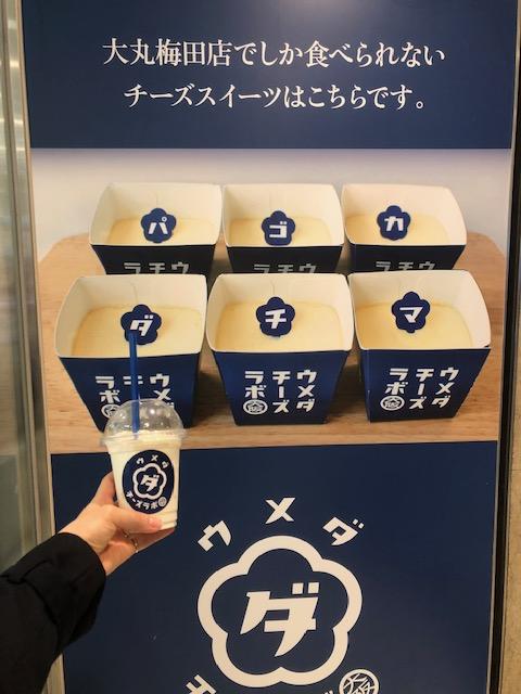 【新感覚スイーツ】大阪梅田限定!話題のチーズケーキ@ウメダチーズラボ