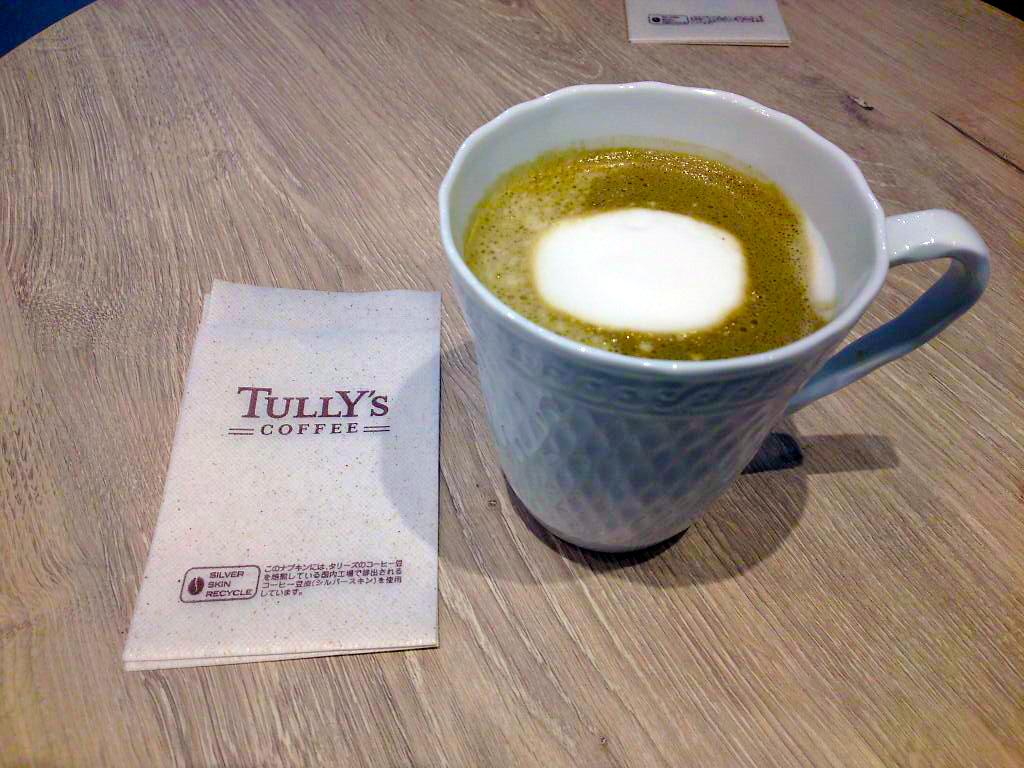 大阪初出店!「TULLY'S COFFEE&TEA」in 梅田