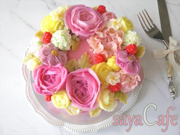 まるで本物のお花!可愛すぎるフラワーケーキの資格を取得しました★