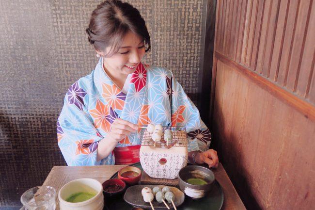 着物で行きたい!嵐山のフォトジェニック茶屋