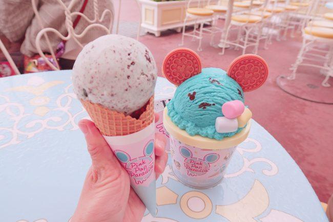 アイスモチーフが可愛い!ディズニーPink Pop Paradise