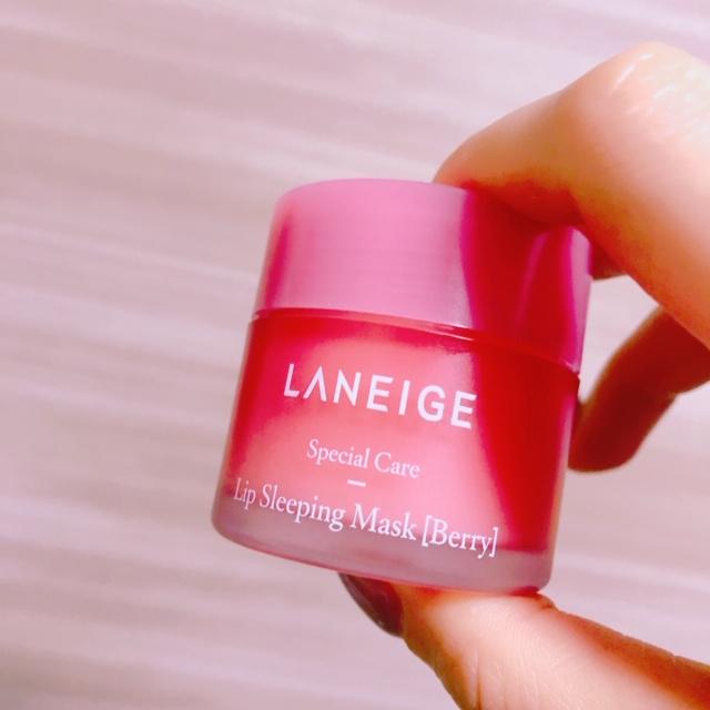 韓国コスメ③カサカサ知らずの潤い唇へ「LANEIGE」リップマスク