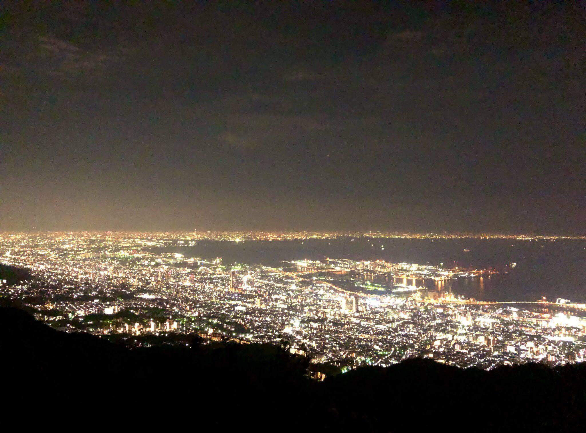 100万ドルの夜景、神戸摩耶山