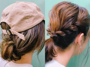 ロングもミディアムも簡単! 暖かい季節はまとめ髪でお出かけしましょ♪