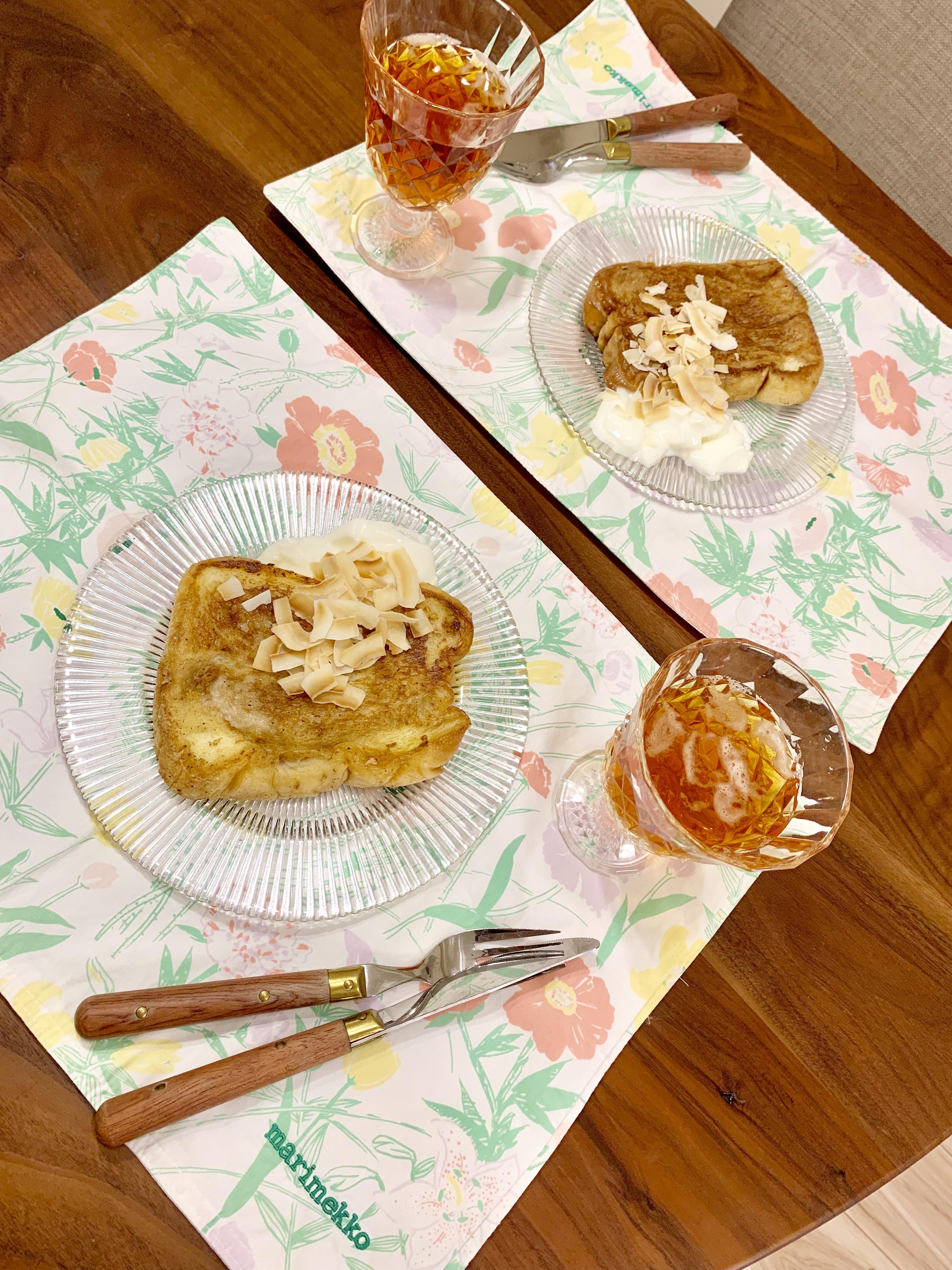 「ひとてま食材でパパッとレシピ」チャイ風味のフレンチトーストを再現!