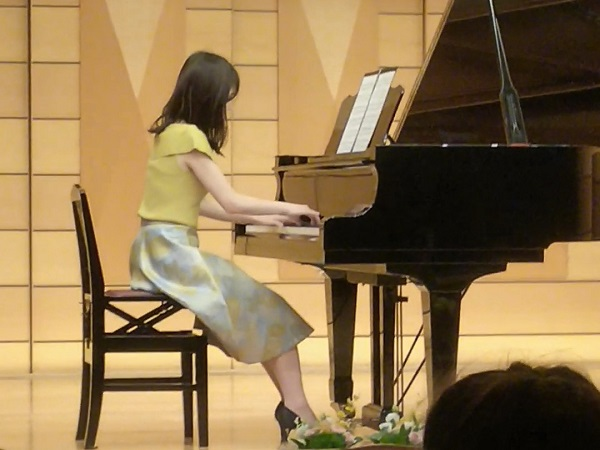 わたしの習い事☆ピアノの発表会
