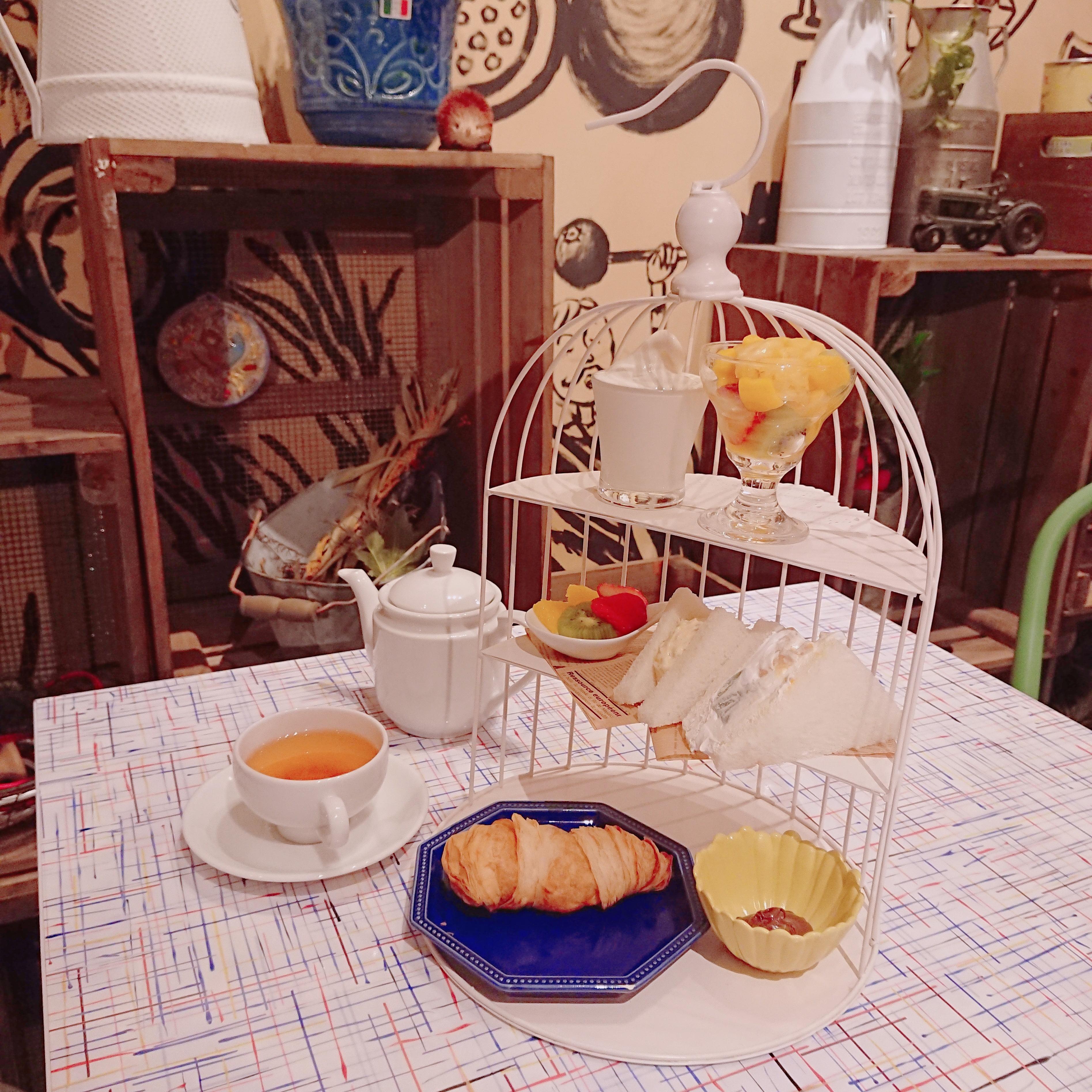 【梅田】1,080円で楽しめるフルーツアフタヌーンティー♪
