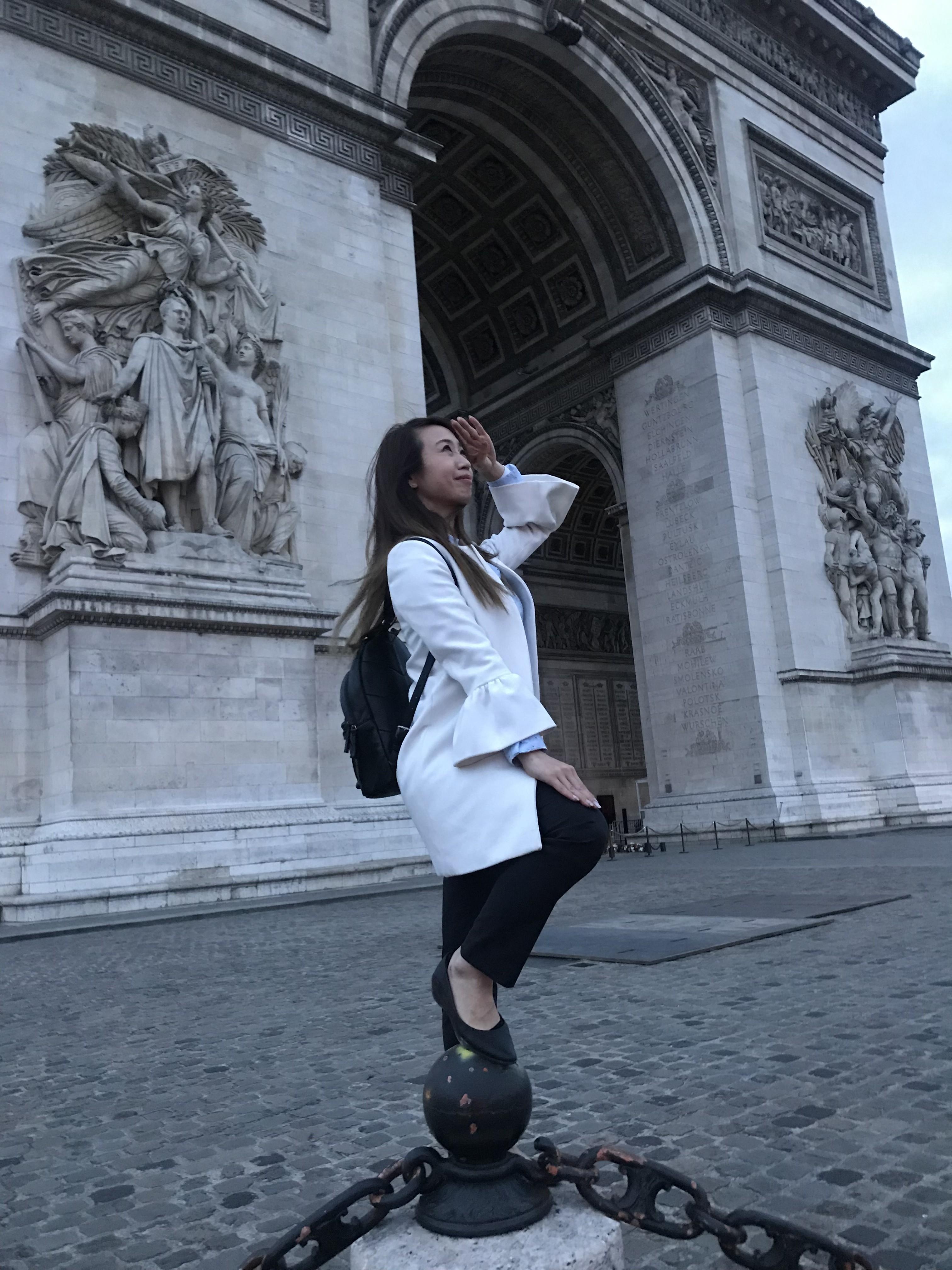 仕事後のパリ散歩【フランス出張】