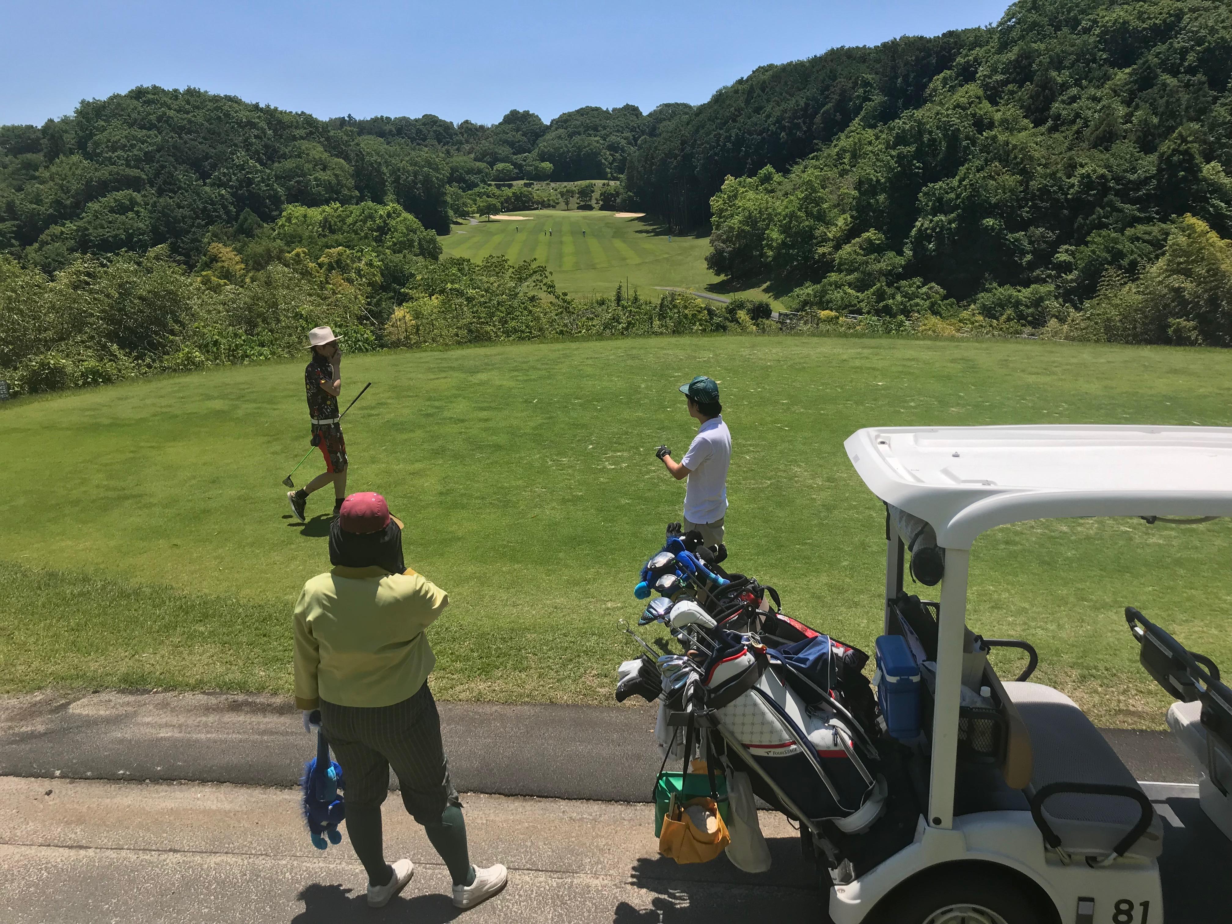 ゴルフ♪花吉野カンツリー倶楽部