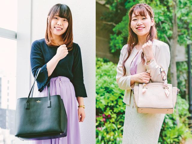 【事務女子のバッグ&中身】仕事の内容に合わせた 大きさをチョイス