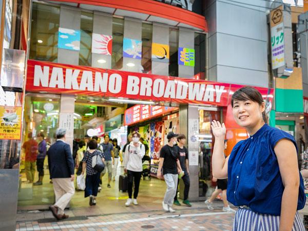 週末おでかけしたいこの街-中野ブロードウェイ編-【TOKYO SNAP】
