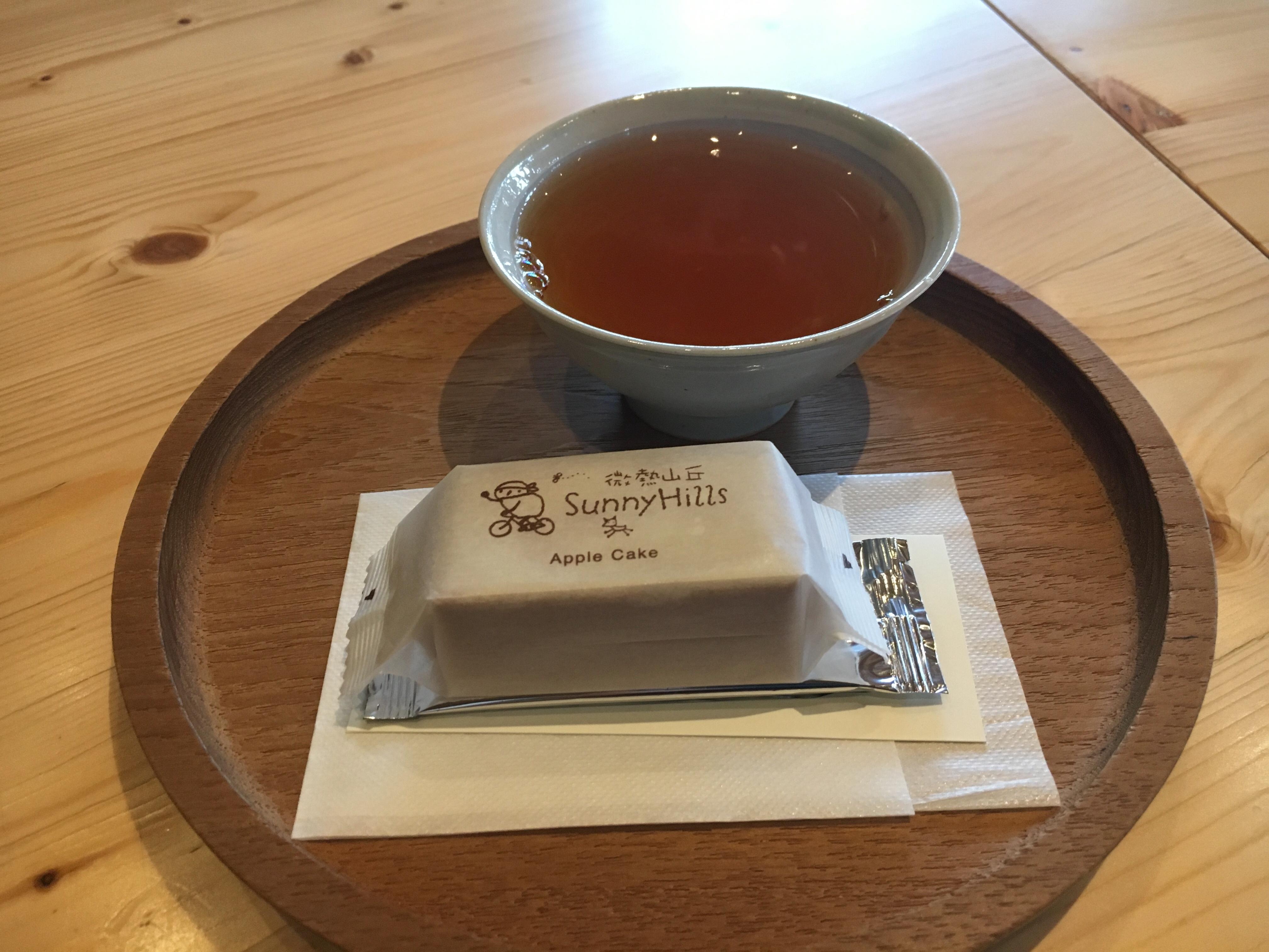 これが無料!?青山の静かな佇まいでいただく台湾の有名ケーキ+お茶