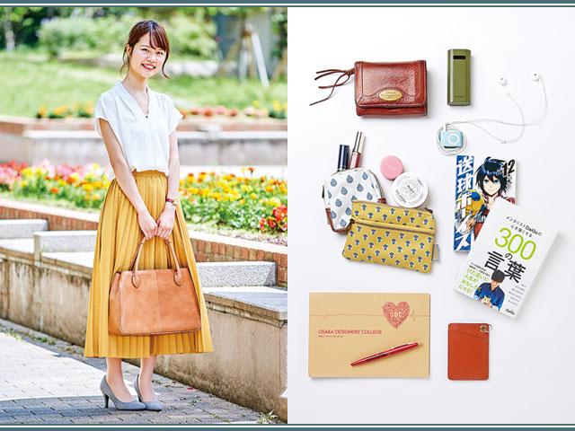 【広報女子のバッグ&中身】本革素材でシンプル長く愛用できるバッグを重宝