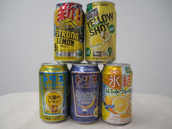 新商品飲み比べ! 暑い夏にグビっと飲みたいレモンサワー&ハイボール5選【編集部ブログ<TOKYO>】