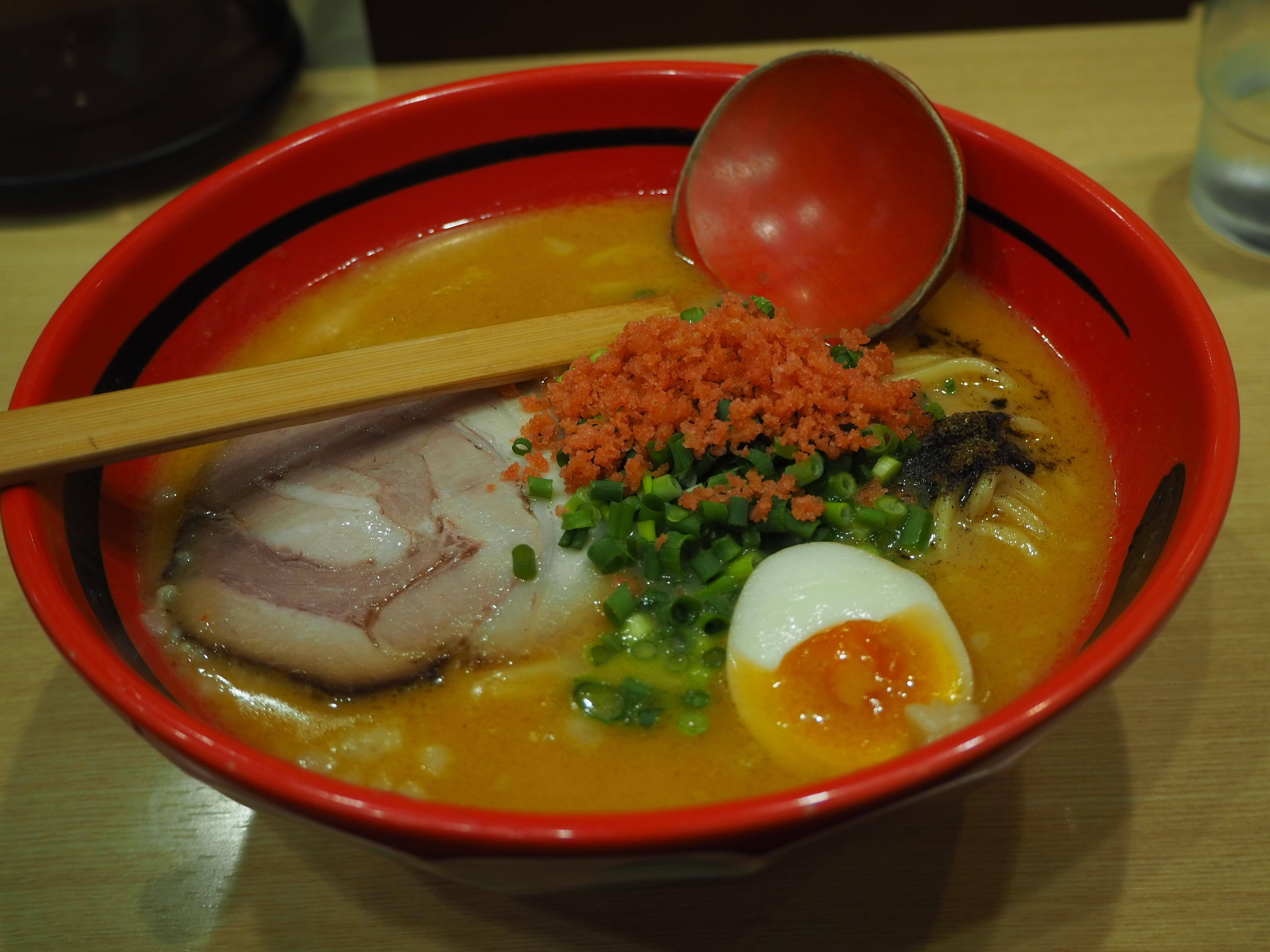 エビの風味がたまらない「一幻」!北海道のラーメンが道外でも食せる!