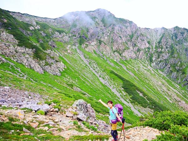 【登山】2泊3日で駆け抜けた南アルプス 荒川岳(悪沢岳)・赤石岳