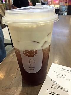 【TEA活】台湾発 神のチーズティー専門店「machi machi」☆