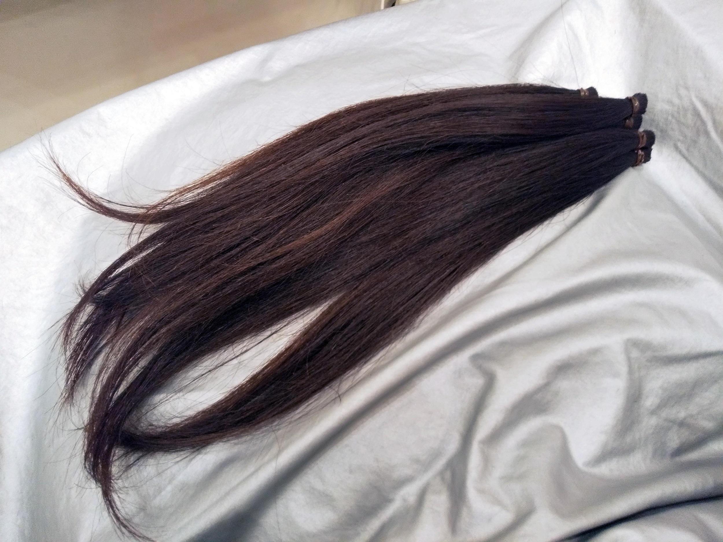 髪を31cm以上カット【ヘアドネーション】しました!