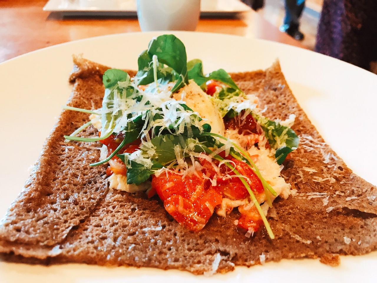 【軽井沢星野リゾート】おしゃれガレット朝食を頂く優雅な朝