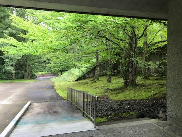 軽井沢で美術と自然に触れる休日
