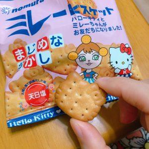 めちゃ可愛♡ミレービスケットがキティちゃんとコラボ!