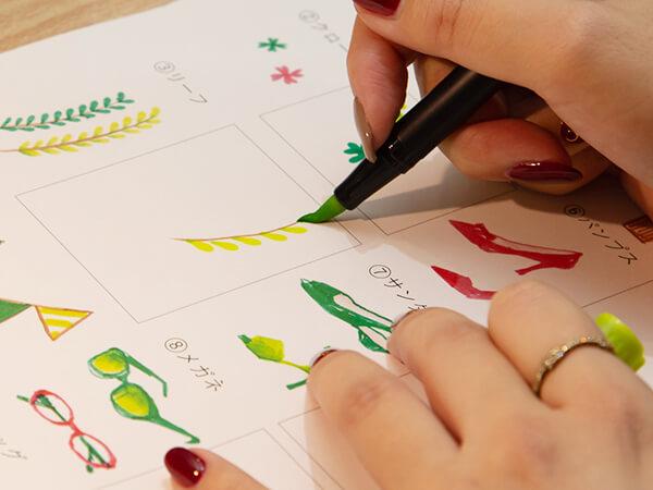 手帳を彩る「簡単ファッションイラスト」と「レタリング」イベントレポート
