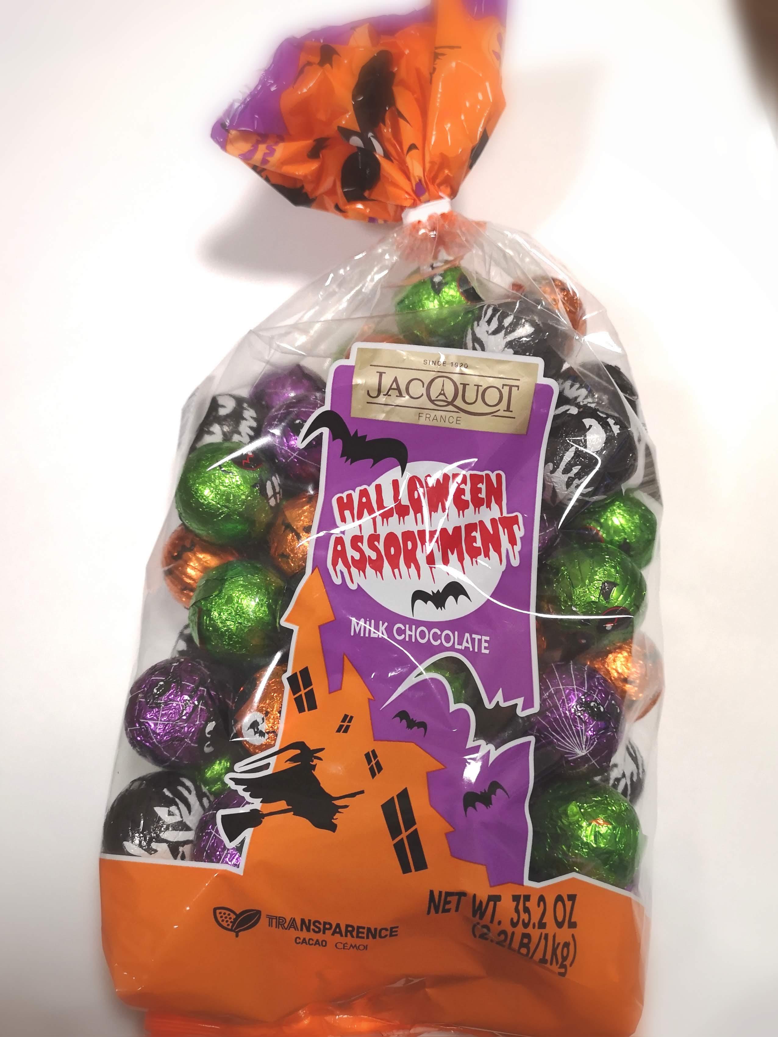 【コストコ】「JACQUOT」のチョコレートでハロウィーンを楽しもう