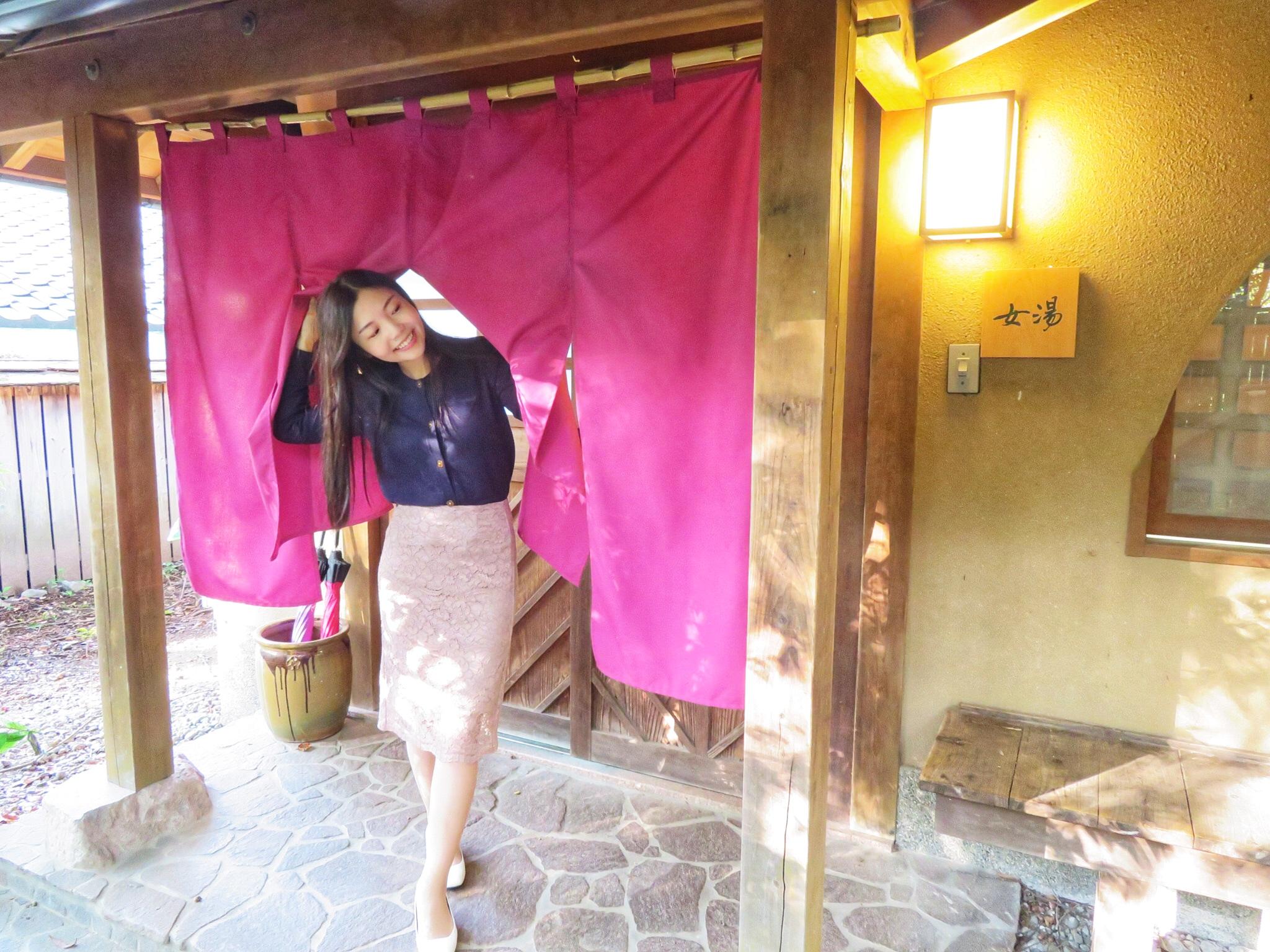 \美人の湯 @由布院/日帰り温泉でお肌すべすべ&金賞○○食べ歩き♪