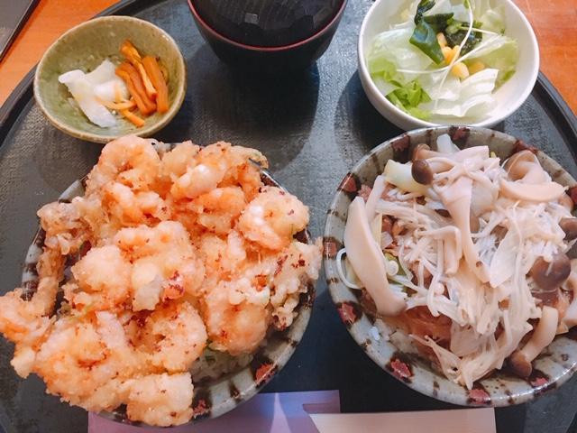【名古屋 グルメ】塩天丼