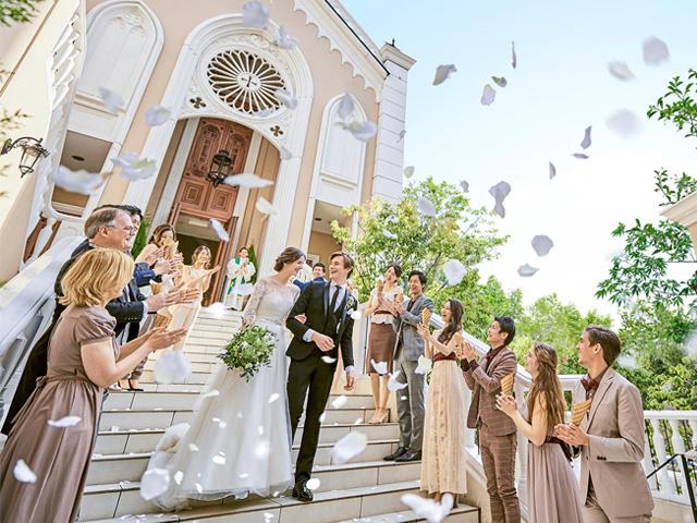 結婚式場の種類って?? 素敵な結婚式を挙げるためにふたりのイメージにあった結婚式場を選んで♪