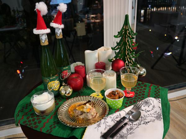 """令和流クリスマスは、のんびりおうちで""""シードル""""とともに"""