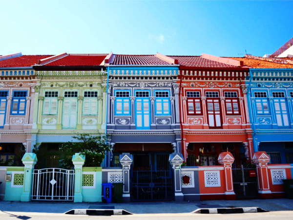 【シンガポール旅行①】カラフルでかわいい街並みのカトン地区