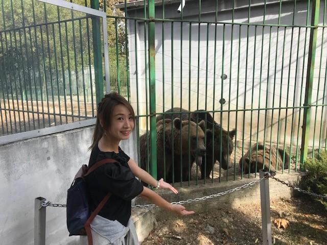 男女で1時間歩いて198円の動物園に行ってきた ♥【ルーマニア出張】