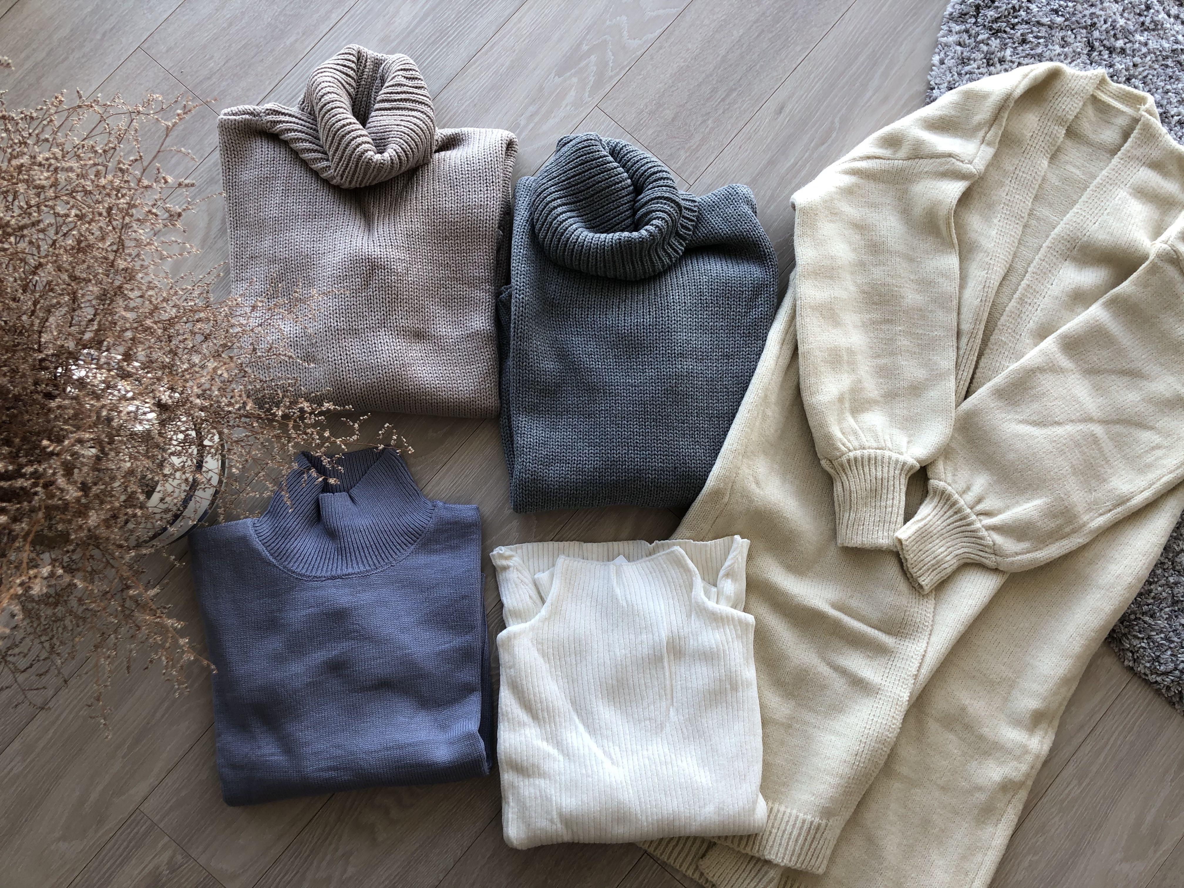 大人気通販サイトで冬物お洋服5つ買っても1万円!コスパ最強!