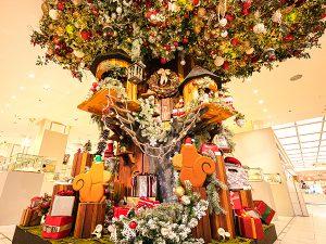 松屋銀座でクリスマスフェア開催!進藤やす子さんのトークショーも