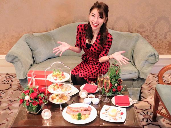 「ホテル椿山荘東京」のクリスマスメニューにご注目