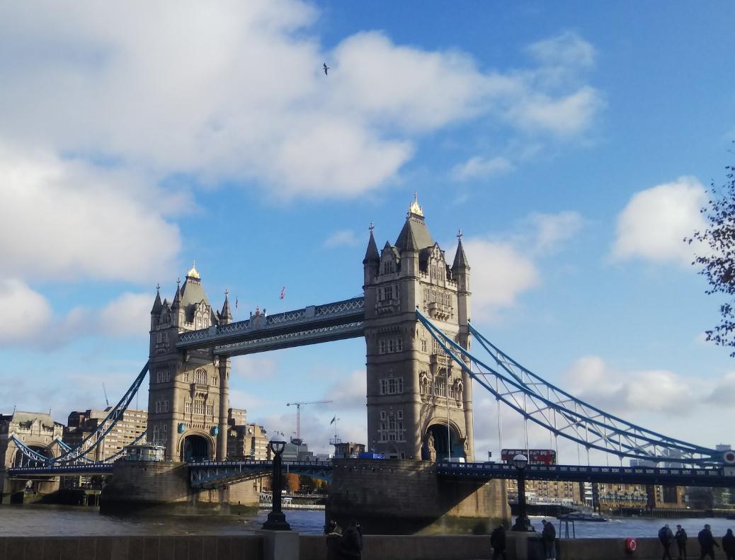 クリスマスシーズンが素敵☆ロンドン一人旅 お散歩♪